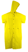 3Xl Yellow W/ Detachable Hood Proferred Rainwear