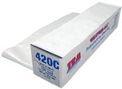 20' X 100' Clear 4 Mil Polyethylene Film Construction Covers