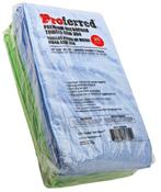 "16"" X 16"" Blue / Green Variety Pack Premium Microfiber Towels Gsm 350 (100/PKG)"