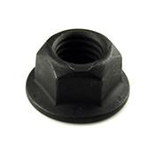 "1/2""-13 Hex Flange Cone Locknut/Top Lock Flange Nuts Grade G Phosphate & Oil (800/Bulk Pkg.)"