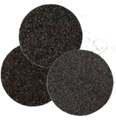 "Floor Sanding Edger Discs - Silicon Carbide Hook & Loop - 8"" x No Hole, Grit/ Weight: 50F, Mercer Abrasives 459050 (50/Pkg.)"