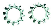 #10 External Tooth Lockwasher Zinc Cr+3 (2,500/Pkg.)