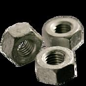 "1 1/8""-7 Heavy Hex Nut, A563 Grade A, Coarse, Hot Dip Galvanized (10/Pkg.)"