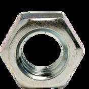 """1/2""""-13 Hex Jam Nut, Coarse, Low Carbon Steel  Zinc Cr+3 (100/Pkg.)"""