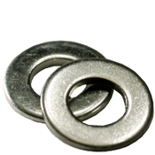 #8 SAE Flat Washers Low Carbon Zinc Cr+3 (5 LBS/Pkg.)