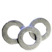 #6 SAE Flat Washers Low Carbon  HDG (50 LBS/Bulk Pkg.)