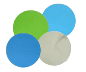 "Aluminum Oxide Micro Finishing Discs - PSA -  6"" x No Dust Holes, Micron Grade: 30u - Grit: 400, Mercer Abrasives 526603 (50/Pkg.)"