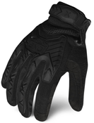XL - EXO Tactical Impact Black-(TAA Compliant) | EXOTA-IBLK- IRONCLAD TACTICAL GLOVES (12/Pkg.)