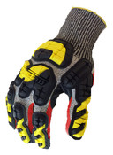 S - Industrial Impact Knit Cut 5 IronClad Oil & Gas Gloves (12/Pkg.)