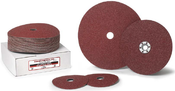 4 x 5/8 60-Grit Aluminum Oxide Fibre Discs (25/Pkg.)