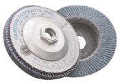 4-1/2 x 5/8-11 40-Grit, Zirconia Type 27/Flat Fiberglass Discs (10/Pkg.)