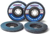 4 x 5/8 Z40-Grit Utility Flap Discs, Type 29/Angle Fiberglass (10/Pkg.)