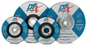 4-1/2 x 1/4 x 7/8 Type 27 Wheels, PFX/Germany Aluminum (25/Pkg.)