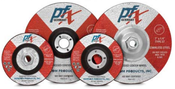 4-1/2 x 1/4 x 7/8 Type 27 Wheels, PFX/Germany Stainless (25/Pkg.)