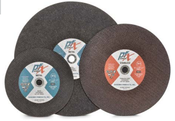 10 x 3/32 x 1 Cut-Off Wheels, Pfx/Germany Stationary, Ferrous Metals-Stainless Steel (25/Pkg.)