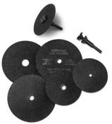 3/8 Arbor Hole x 1/4 (M-23) Cut Off Wheel Adapter (100/Pkg.)