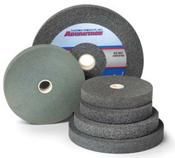 10 x 1 x 1-1/4 24-Q Aluminum Oxide Pedestal Wheel
