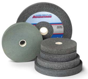 10 x 1 x 1-1/4 80-M Aluminum Oxide Pedestal Wheel