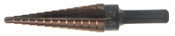 "1/4KO"" Step Drill Ultra Bit Multi-Diameter Type 78-ACN Titanium Carbon Nitride Coated (1/Pkg.)"