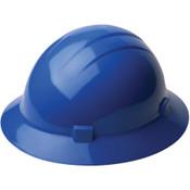 ERB Safety Hat Style: Blue, 4-Point Nylon Suspension With Slide-Lock Adjustment Safety Hat (12/Pkg.)