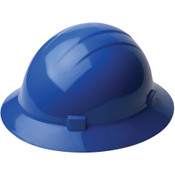 ERB Safety Hat Style: Blue, 4-Point Nylon Suspension With Ratchet Adjustment Safety Hat (12/Pkg.)