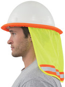 Hi-Viz Lime with Pink Trim Mesh Neck Shields (3/Pkg.)