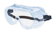 Perforated Goggles Ventilated 116 Frame Clear Anti-Fog Lens (12/Pkg.)