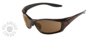 8200 Brown Frame Brown Smoke Polarized Lens (12/Pkg.)