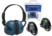 Blue Digital Camo 239 Foldable Earmuffs (12/Pkg.)