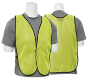 Lime S18 Non-ANSI Vest - Hook & Loop - One Size Fits Most