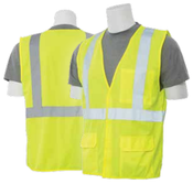 Medium S190 Lime ANSI Class 2 Flame Retardant Treated Hi-Viz Lime - Hook & Loop