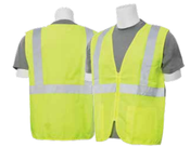 2X-Large S388Z Lime ANSI Class 2 Vest Woven Oxford Hi-Viz Lime - Zipper