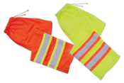 Large S210 Orange ANSI Class E Mesh Pants Hi-Viz Orange