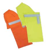 3X-Large S373PT Orange ANSI Class E Lightweight Rain Pants Oxford PU Coating Hi-Viz Orange