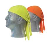 Hi-Viz Orange A110 Hi-Viz Doo Rag Birdseye Knit Mesh