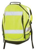 Hi-Viz Lime Backpack w/Black Trim BP1