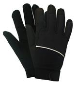 Black M100 Mechanics Gloves, EXTRA-LARGE