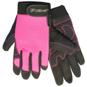 Pink MGP100 GP Mechanics Gloves, SMALL