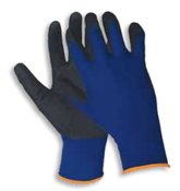 Blue N200 Sandy Finish Gloves,  EXTRA-LARGE (12/Pairs)