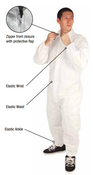3XL PC 100 Individually Bagged Coveralls (25/Pkg)