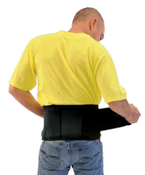 "Medium 33"" - 37"" Economy Back Supports without Suspenders"