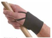 F85 Black Wrist Supports (6/Pkg.)