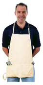 F4 Denim Shop Apron (6/Pkg.)