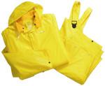 4X-Large 4025 Rain suit 3pc .25mm Yellow