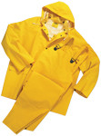 2X-Large 4035 Rain suit 3pc .35mm Yellow
