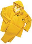 4X-Large 4035 Rain suit 3pc .35mm Yellow