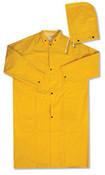 "3X-Large 4148 Raincoat 48"" .35mm Yellow"