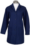 2X-Large L1 Female Lab Coat - Navy