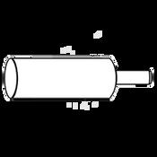 "5/8"" Machine Screw Anchor Setting Tool Zinc"