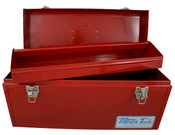 "Medium Size Steel Tool Box, 19"" X 7"" X 7-1/2"", Martin #BX21"